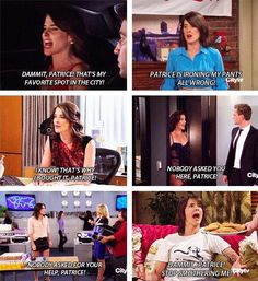 #HIMYM: Nobody asked you Patrice!