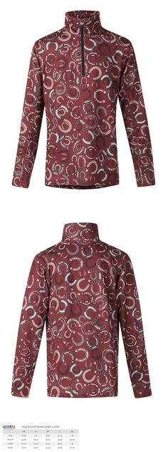 Shirts and Tops 183372: Kerrits Kid S Shoe-In Quarter Zip Shirt Fall Winter 2017 -> BUY IT NOW ONLY: $48.6 on eBay!
