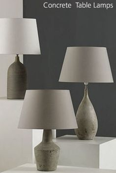 Browse our beautiful lighting ranges with matching table lamp, floors lamp and fittings. Also shop our bulbs and lighting accessories. Concrete Table, Table Lamps, Floor Lamp, Bulb, Collections, Flooring, Lighting, Home Decor, Lamp Table