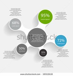 Infographic Templates for Business Vector Illustration - stock vector