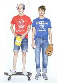 Taemin and Minho