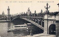Vous aimez Paris?: Paris Pont Alexandre III Pont Alexandre Iii, Paris Paris, Sydney Harbour Bridge, Buildings, Travel, Antique Pictures, Viajes, Trips, Tourism