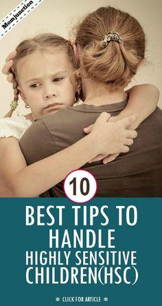 10 consejos sobre la crianza El Niño Altamente Sensible