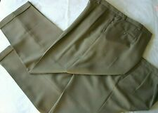 2 Austin Reed London Nanotex Mens Pleated Cuffed Khaki Pants Slacks 50 X 32 Austin Reed Khaki Pants Mens Slacks