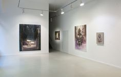 The End of Gravity, Erika Deák Gallery, exhibition view