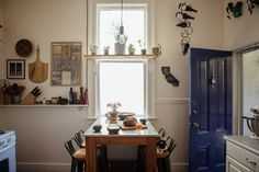 Ashley and Matt moved to San Francisco from NYC, and share this home in the Lower Haight with their cat Zucca.