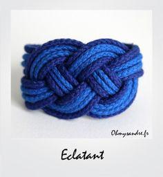 eclatant bleu