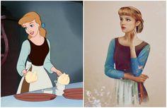 Вот как диснеевские принцессы выгляделибы вреальной жизни
