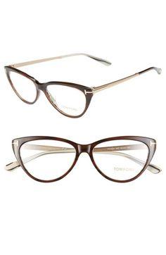 4f4d2fb492e7 Tom Ford 53mm Optical Cat Eyeglasses