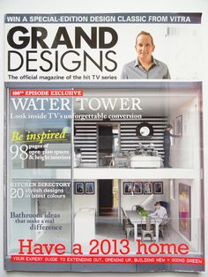 Grand Designs Magazine article Andy Shaw art www.saatchiart.com/andyshawart www.etsy.com/shop/AndyShawArt