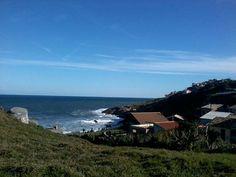 Vista pro mar do Farol de Santa Marta em Laguna, SC