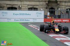 Max Verstappen, Red Bull, Formule 1 Grand Prix van Azerbeidzjan 2018, Formule 1 Grand Prix, Red Bull, F1, Vans, Racing, Formula 1, Running, Auto Racing, Van