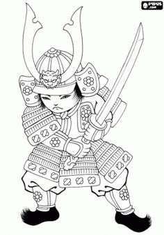 free japanese art coloring pages - photo#27