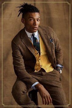 Vision of Beauty Men's Suits, Nice Suits, Preppy Boys, Preppy Style, Dandy, Tweed Run, Preppy Mens Fashion, Ralph Lauren, Dapper Men