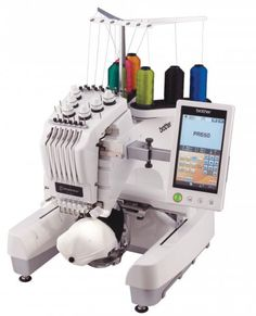 Brother PR-655 Embroidery Machine - http://www.kenssewingcenter.com ...