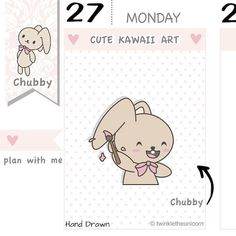 CB038  Doodle Planner Stickers Doodle Stickers Draw