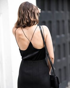 The classic black cami... New style essentials post up on the blog  by talisa_sutton
