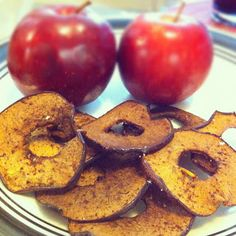 Crispy apple chips.....