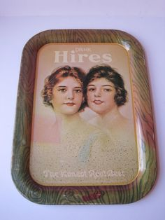 Vintage Hires Root Beer Serving Tray. by ElsasAttic on Etsy, $12.00