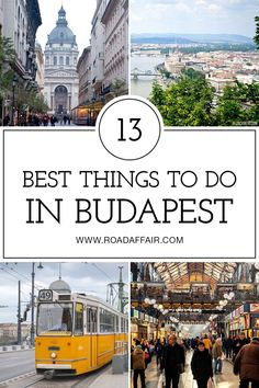 Discover the best things to do in Budapest, Hungary including Gellert Hill, Memento Park, Fisherman's Bastion, and St. Stephen's Basilica. Europe travel guide - top things to do in Europe Europe Travel Tips, Places To Travel, Places To See, European Destination, European Travel, Travel Around The World, Around The Worlds, Budapest Travel Guide, Danube River Cruise