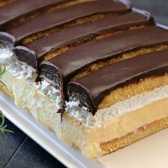 Sweets Recipes, Cake Recipes, Cooking Recipes, Vanilla Cake, Nutella, Chocolate Cake, Biscuits, Easy Meals, Food And Drink