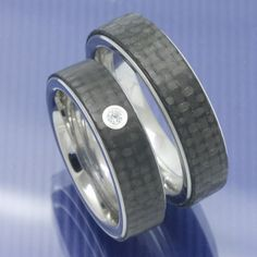 Eheringe-Shop - Trauringe aus Edelstahl und Carbon P9303167