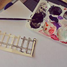 Le blog de Gabrielle Aznar: Le cimetière en papier ♦ DIY Papier Diy, Diy Paper, Decoration, Cemetery, Desserts, Blog, Decor, Tailgate Desserts, Deserts