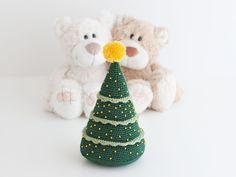 Amigurumi árbol de Navidad (patrón gratis)