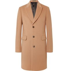 Wool and Cashmere-Blend Coat http://bit.ly/20F8nAu