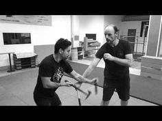 Kali Research Academy / Double Weapon Fighting (Knife and Tomahawk) - YouTube