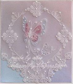 Adie's crafty corner: Butterfly card