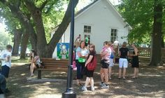 School house @ iowa state fair