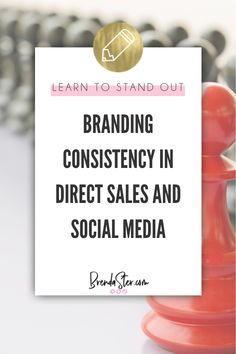 So, you've joined your direct sales company, and you're excited and ready to get started. Your first step? Branding. And, more importantly, branding consistency. In this episode, Brenda talks about the importance of branding consistency in direct sales and across social media and offers tips to help you achieve it.