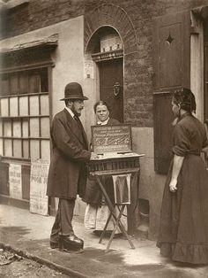 Street Doctor, London, 1877