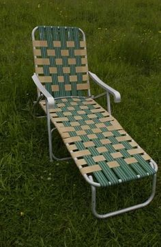 Lord Have lawn furniture.spent many summer days laying out in the backyard on one of these.Not the best Quality.This was it for a good many years.