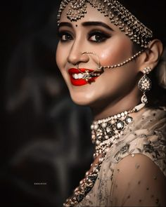 Bridel look😍🔥 Shivangi joshi - - No repost ✖✖ Indian Wedding Photography Poses, Bride Photography, Indian Wedding Bride, Indian Bridal, Bridal Photoshoot, Portraits, Bride Makeup, Celebrity Couples, Bridal Looks