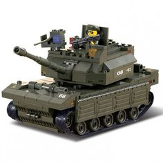Military Tank - LEGO Compatible