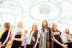 Carven Spring 2015 RTW – Backstage for more fashion and beauty advise check out The London Lifestylist http://www.thelondonlifestylist.com