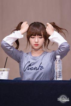 WJSN ♡ Chéng Xiāo 성소 (程瀟) 청샤오 #양갈래 #우주소녀 #팬사인회