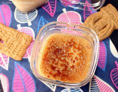 Crème brûlée aux spéculoos ( dans la yaourtière multi délices ou pas )