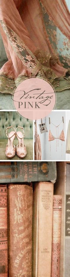 vintage-pink-inspired //I only like pink when it's vintage