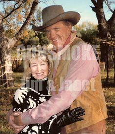 James Arness (and wife) : Gunsmoke, the longest running western series
