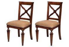 Mercer Side Chairs, Pair on OneKingsLane.com