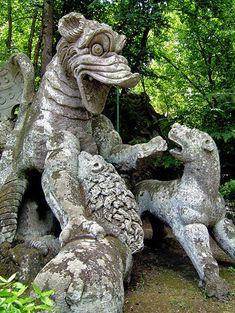 Garden of Monsters, Bomarzo, Italy