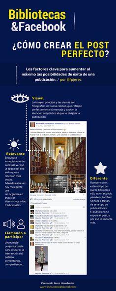 El Mundo Web Social: Bibliotecas y Facebook: Cómo crear el post perfecto [#Infografía]