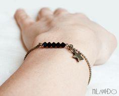 Bracelet Eléa - Perles Cristal Swarovski Etoile de Mila Do sur DaWanda.com