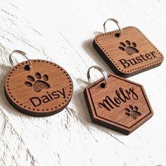 Pet Tags Dog ID Tag Custom Engraved Personalised Pet Tag Cat image 0 laser engraving ideas Engraved Pet Tags, Engraved Gifts, Personalised Dog Tags, Laser Cutter Ideas, Laser Cutter Projects, Wood Engraving, Custom Engraving, Engraving Ideas, Engraving Tools