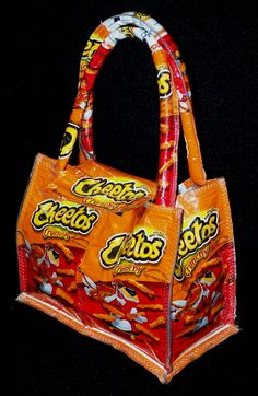 Cheetos Bags.    I want one!!