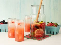 Muddled Lemonberryade Recipe : Michael Chiarello : Food Network - FoodNetwork.com