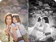 sweet mother daughter photos